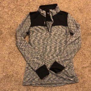 Reebok fleece lined quarter zip